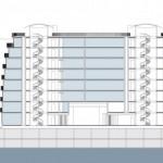 Plan de coupe résidence Nouvelle Vague Cogedim