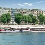 Résidence neuve Nouvelle Vague sur les quais de Seine à Paris