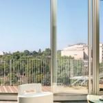 Nouvelle vague Paris, vue depuis le balcon