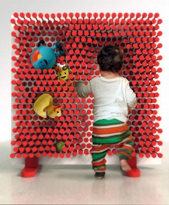 Pin Pres, étagère clous modulable pour enfant