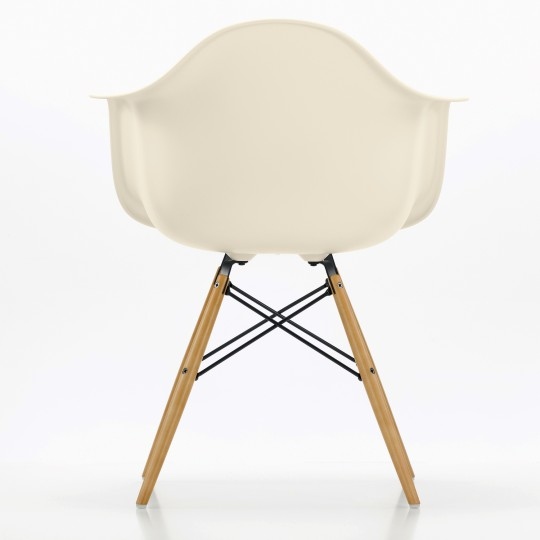 Plastic Armchair blanche Eames