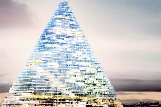 Projet de la Tour Triangle, porte de Versailles à Paris