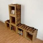 Bibliothèque en carton design 800 Gr