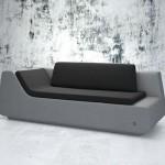 Canapé design Novv gris