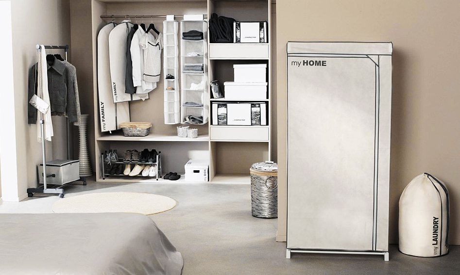Housses Compactor, jusqu'à 75% de place gagnée dans votre dressing !