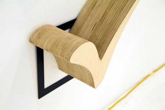 Etagère en bois design Check