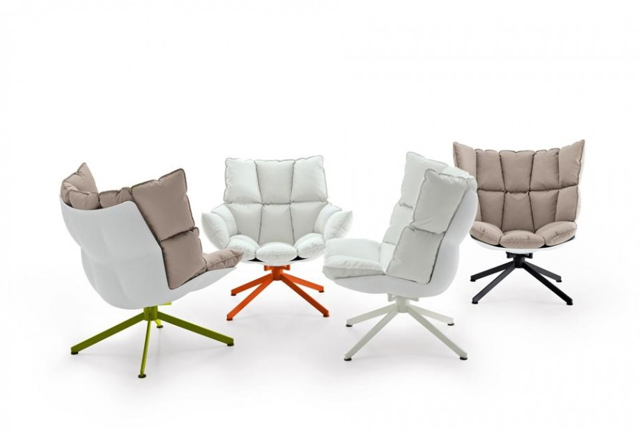 fauteuil husk design patricia urquiola pour b b italia. Black Bedroom Furniture Sets. Home Design Ideas