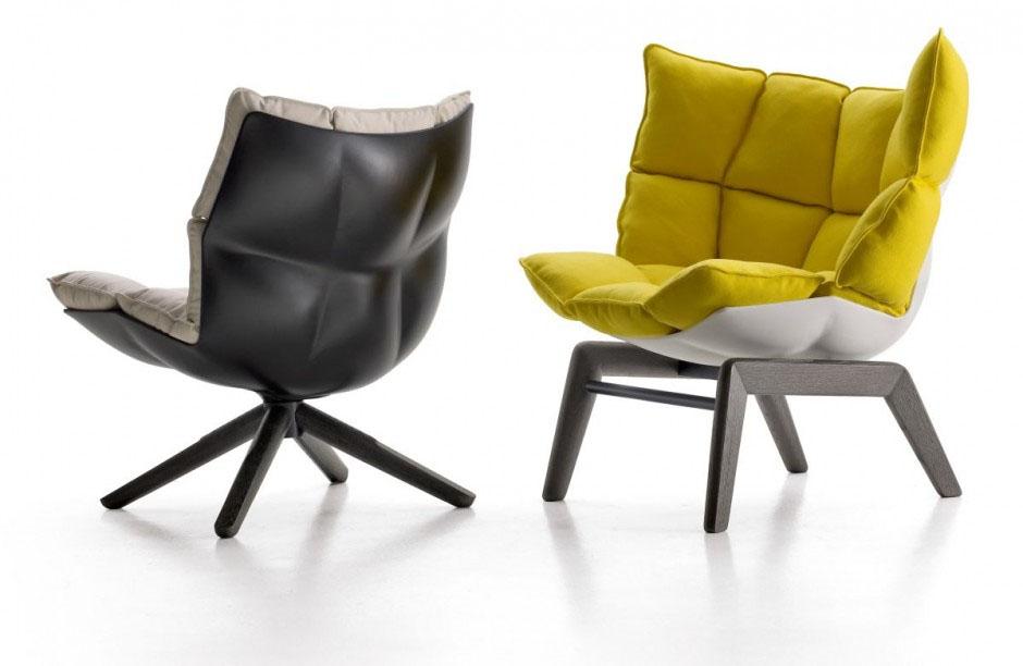 Fauteuil Design Confortable : Fauteuil confortable design husk par patricia urquiola