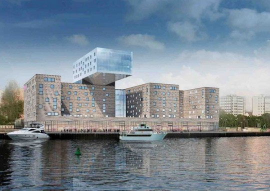 Architecture design : Nhow hotel à Berlin (Allemagne)