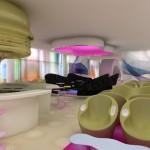 Hotel Nhow décoré par le designer Karim Rashid