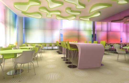 Restaurant du Nhow Hotel à Berlin