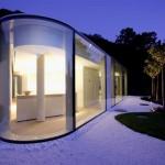Maison aux formes arrondies Lugano House