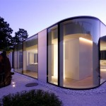 Maison en verre contemporaine Lake Lugano House