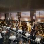 Restaurant panoramique dans la tour Hermitage Plaza