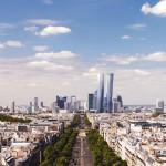 Vue de Paris des tours Hermitage Plaza