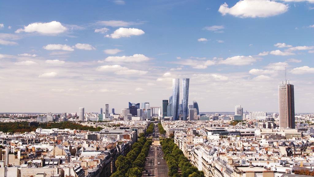 Paris la d fense hermitage plaza ex les damiers for Tour hermitage