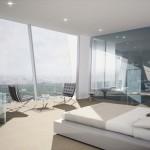 Tour Hermitage : Chambre avec vue panoramique sur Paris