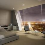 Tour Hermitage : Dans un chambre avec vue sur la Tour Eiffel