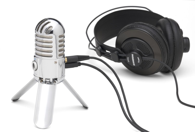 Samson Meteor, le plus beau microphone USB pour Mac et PC ?