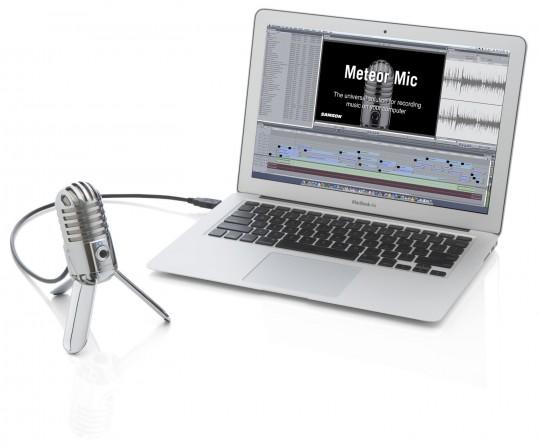 Micro USB Meteor branche sur un Mac