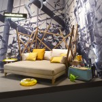 SAGA double chaise longue cocoon - Roche Bobois 2012