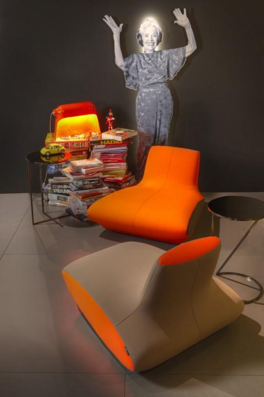 Fauteuil Spoutnik, collection Roche Bobois 2012