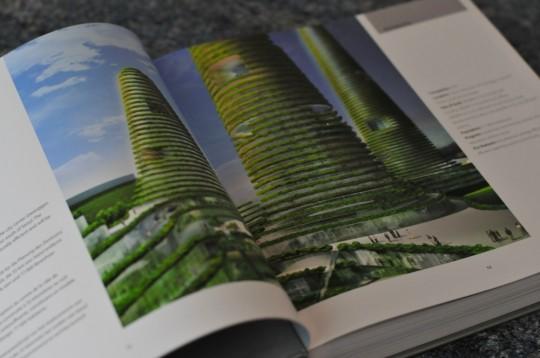 Tour futuriste végétalisée