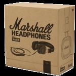 Boite en carton du casque Marshall Major