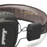Casque Marshall Major avec la signature de Jim Marshall