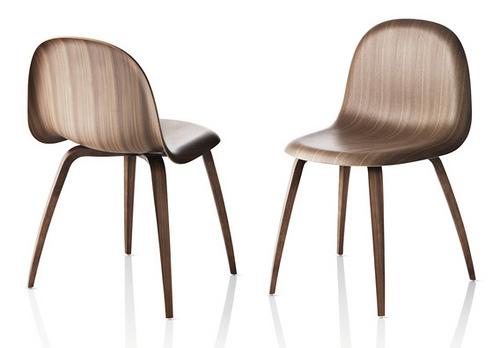 Découvrez Gubi chair, la nouvelle icône de la chaise en bois