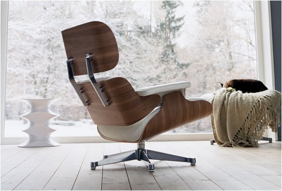 Charles & Ray Eames fauteuil lounge chair Vitra