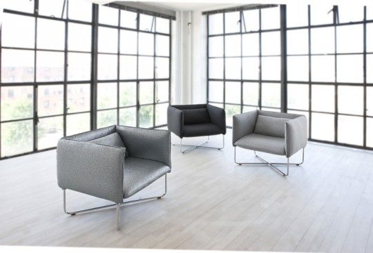 Fauteuil Groove gris
