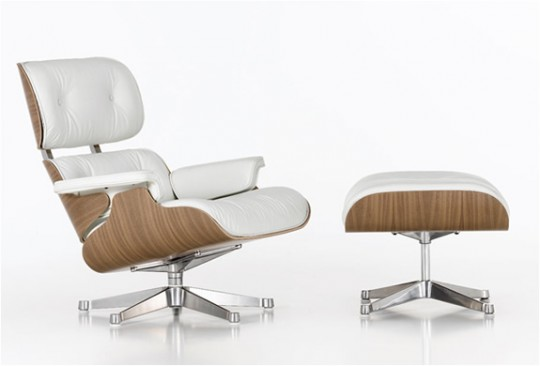 Fauteuil lounge Ottoman Charles Ray Eames