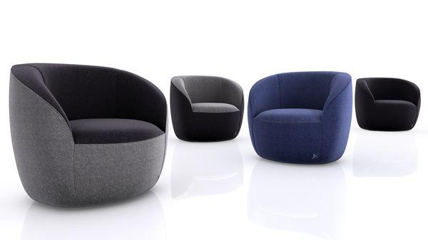 fauteuil groove par busk hertzog. Black Bedroom Furniture Sets. Home Design Ideas