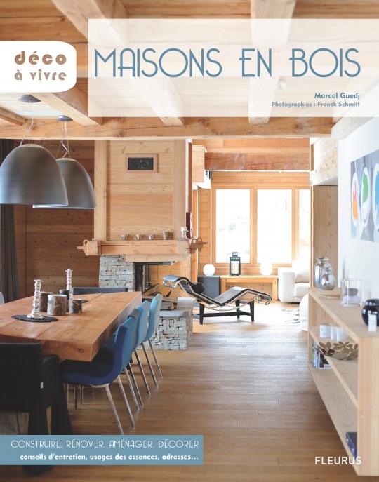 Livre Maisons en bois, éditions déco à vivre