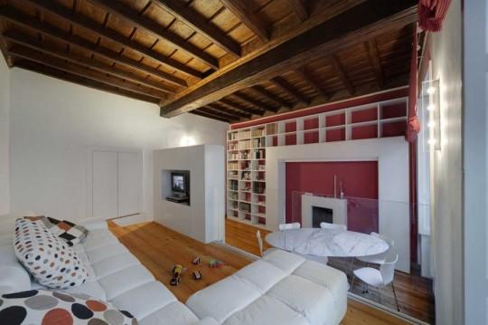 Petit appartement rénové par POINT architecture