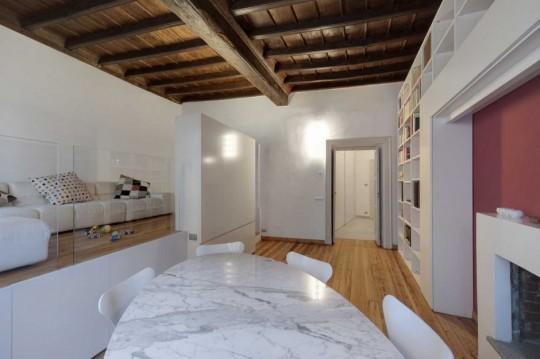 Petit appartement rénové dans un style design