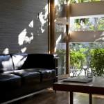 Canapé en cuir écologique Stacking Green