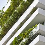 Maison verte moderne Stacking Green