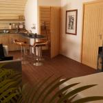 Intérieur de la maison en bois ecoPERCH