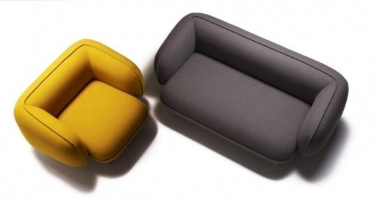 Canapé et fauteuil Snoopy