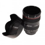 Mug café en forme d'objectif appareil photo Canon 24-105 mm
