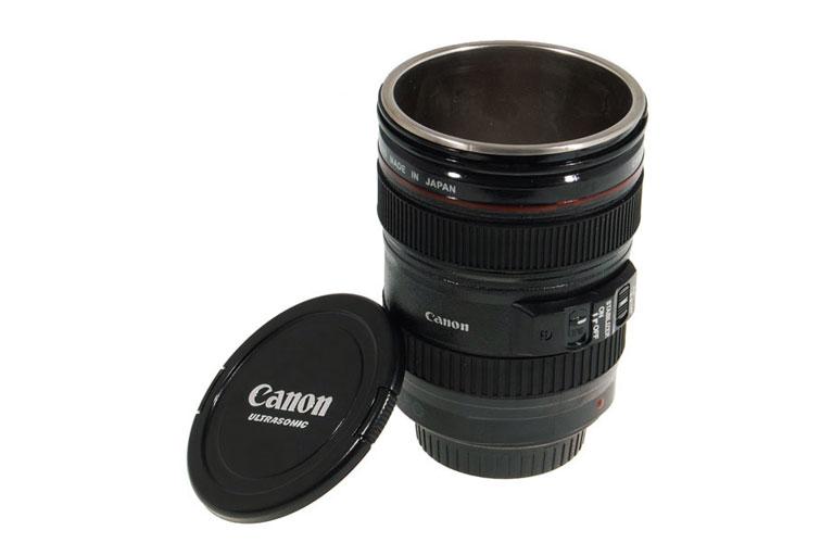 Thermos lens mug canon 45 105mm for Canon photo lens mug