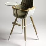 Chaise haute pour bébé Micuna OVO avec coussin assorti