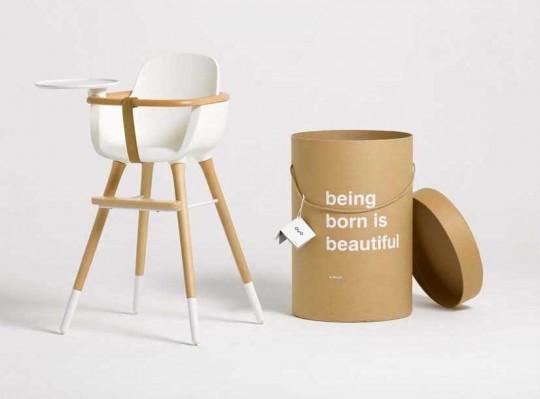 Chaise haute pour enfant design Micuna OVO