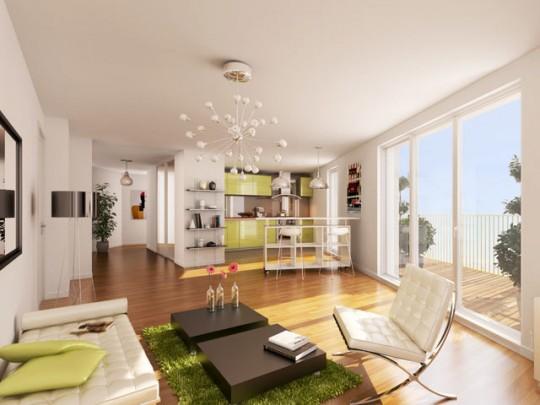 Appartement design dans la résidence Home (Paris 13ème)