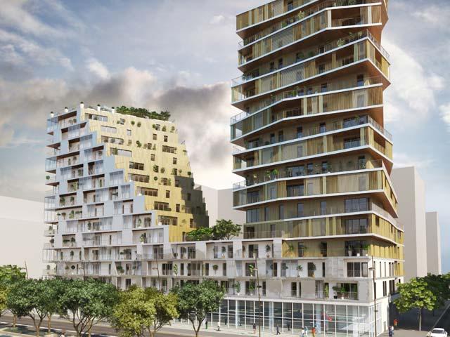 Résidence Home, Paris 13, par Bouygues Immobilier