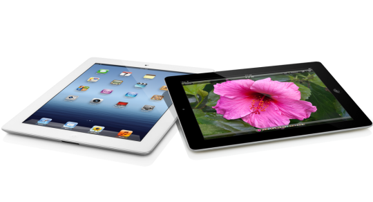 iPad 3 blanc versus iPad 3 noir