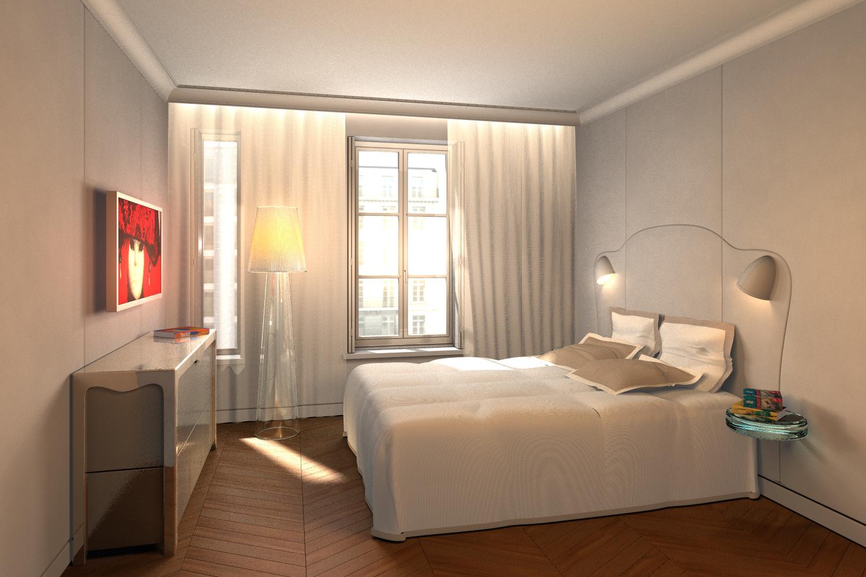 Chambre d 39 h tes de charme haut de gamme r sidence nell paris - Chambre d4hotes de charme ...