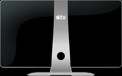 C'est confirmé, votre prochain téléviseur pourrait être frappé d'une pomme !